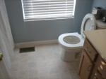 Step 3: Remove litter box so he only has the toilet trainer to
