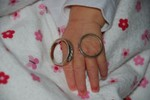 Mommy and Daddy's wedding rings