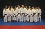 Black belts with Sensei Futamata