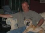 Meg and her grandpa Heinz